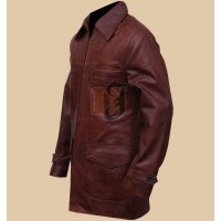 Tuvia Bielski Defiance Movie Daniel Craig Beron Leather Coat