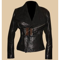 Taylor Swift Rick Owens Black Motorcycle Jacket | Women Black Jackets