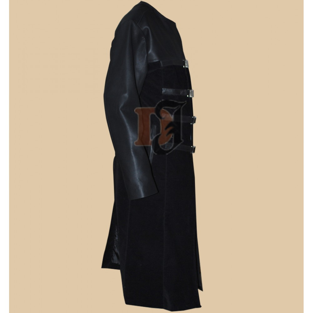 Farscape John Crichton (Ben Browder) Long Leather Coat | Black Coats