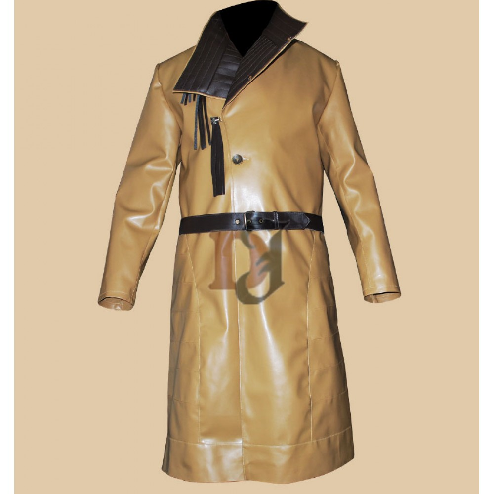 Game of Thrones Jaime Lannister Long Leather Jacket   Movies Coat