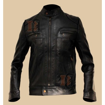 Matthew McConaughey Black Leather Jacket | Black jackets