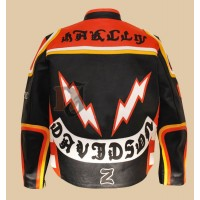 HDMM Style & Marlboro Man Leather Motorcycle Jacket