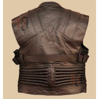 The Avengers Hawkeye Vest | Movies Leather Vests