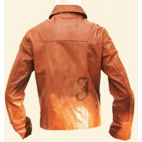 Inception Arthur Stylish Brown Leather Jacket | Brown Jackets