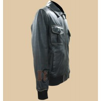 Jamie Dornan Leather Jacket-Once Upon A Time Sheriff Graham Jacket