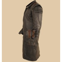 Jeremy Renner Witch Hunter Long Coat | Hansel and Gretel Trench Coat