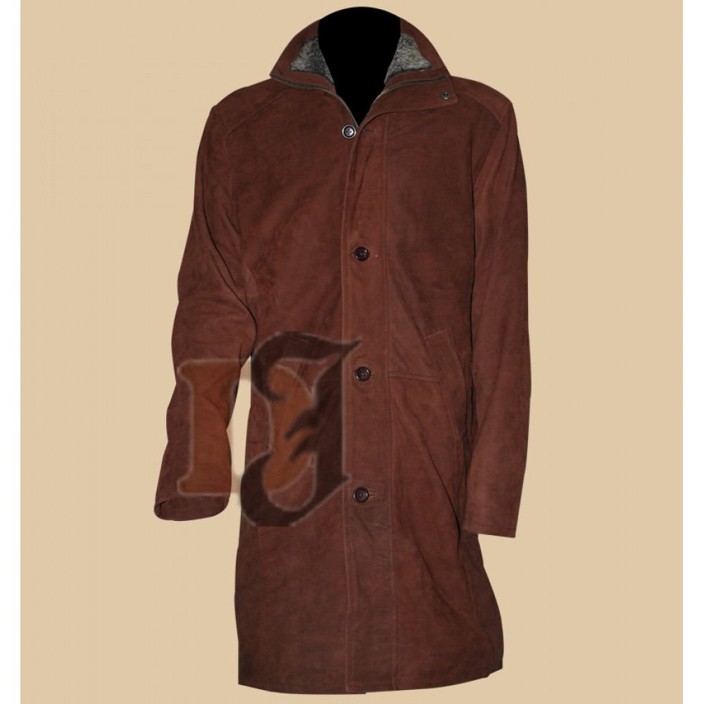 Sheriff Walt Longmire Trench Jacket | Robert Taylor Coat | Distressed Jackets