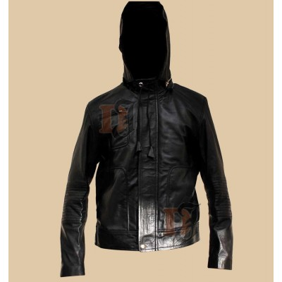 Mission Impossible Ghost Protocol Jacket | Black Hooded Jacket