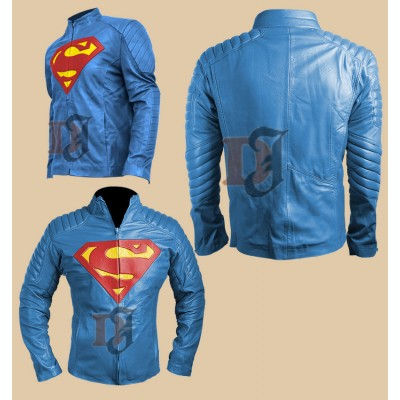 Superman Costume Jacket - Man of Steel Movie Costume Jacket