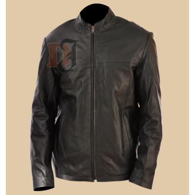 Minority Report Black Leather Jacket| Tom Cruise Leather Jackets