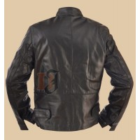 Minority Report Black Leather Jacket| Tom Cruise Leather Jackets