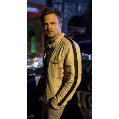 Need For Speed Aaron Paul (Tobey Marshall) White Jacket | Games Jackets