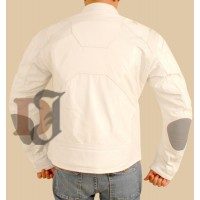 Oblivion Tom Cruise Motorcycle White Jacket | White Jackets
