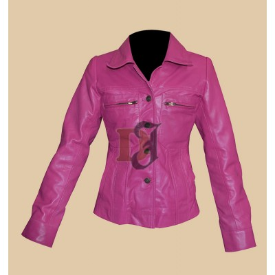Percy Jackson: Sea of Monsters Alexandra Daddario Jacket | Pink Jackets