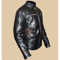 R.I.P.D Kevin Bacon (Bobby Hayes) Black Leather Jacket | Black Jackets