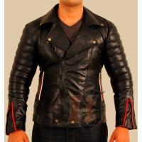 Ryan Gosling Blue Valentine Black Leather Jacket Men's | Black Stylish Jacket