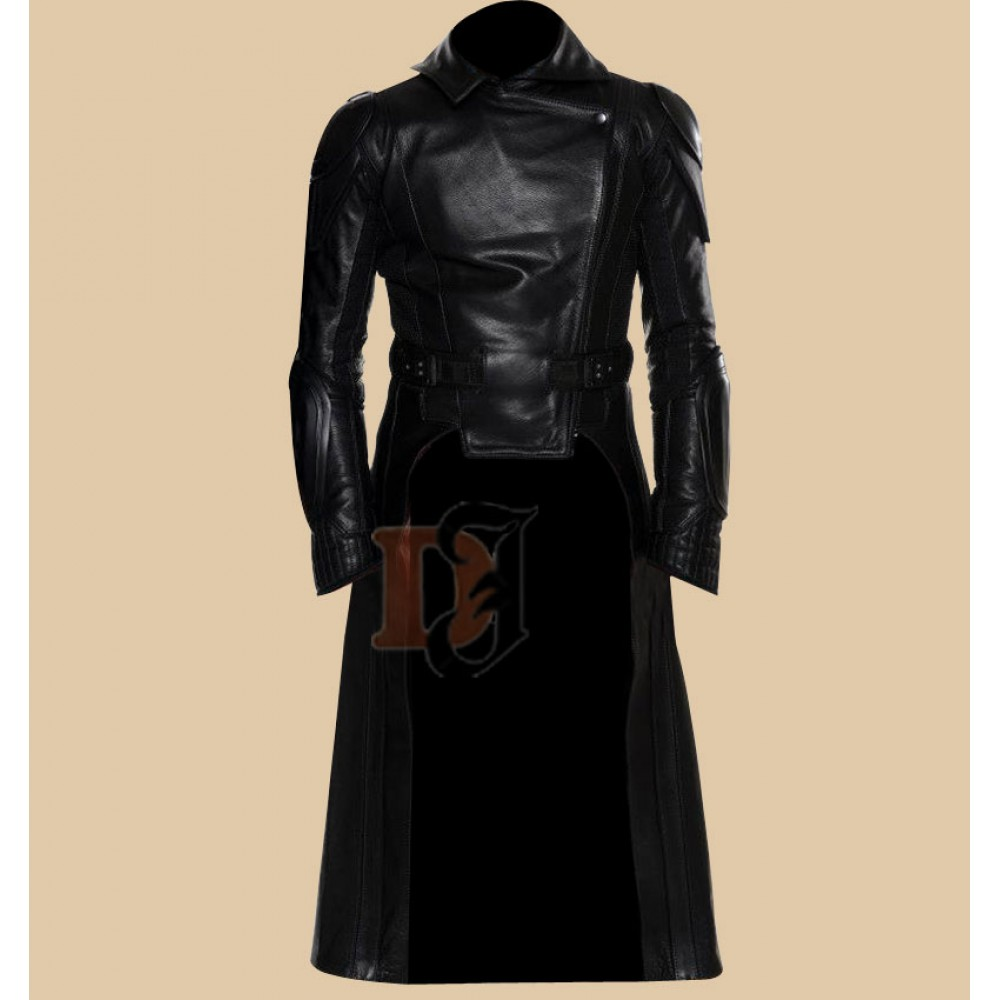 G.I Joe Retaliation Cobra Commander Long Leather Coat Jacket