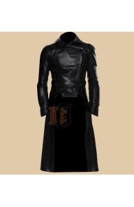 G.I Joe Retaliation Cobra Commander Long Leather Coat Jacket