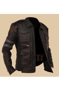 Resident Evil 6 Jacket | Brown Leather Jacket