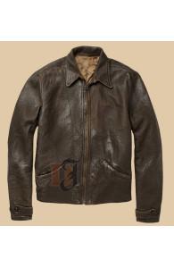 Skyfall Daniel Craig Bond Vintage Leather Jacket | Distressed Jackets