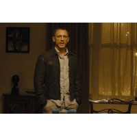 Skyfall Daniel Craig Bond Vintage Leather Jacket | Distressed Jackets
