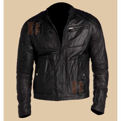 Star Trek Chris Pine Jacket | James T. Kirk Leather Jacket