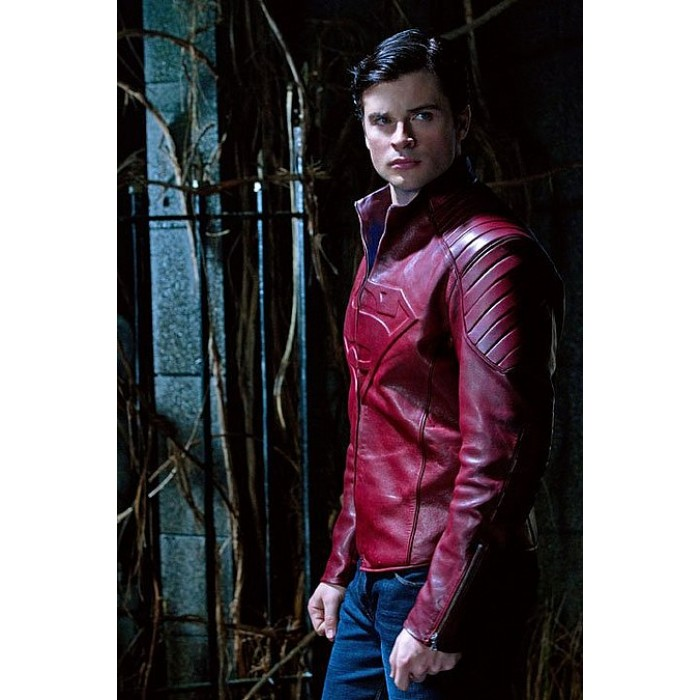 Smallville red leather jacket buy