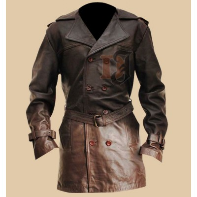 Sweeney Todd Leather Jacket | Movies Leather Coats