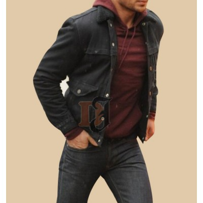 Awkward Moment Zac Efron Black Leather Jacket | Superhero Leather Jackets