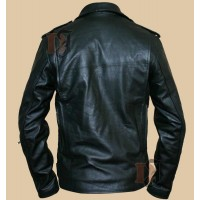 Terminator 2 Jacket - Arnold Schwarzenegger Motorcycle Jacket