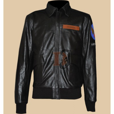 Great Escape Steve McQueen Black Leather Jacket | Black Jackets