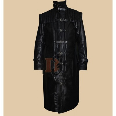 VAN HELSING HUGH JACKMAN BLACK COAT | Black Long Coats