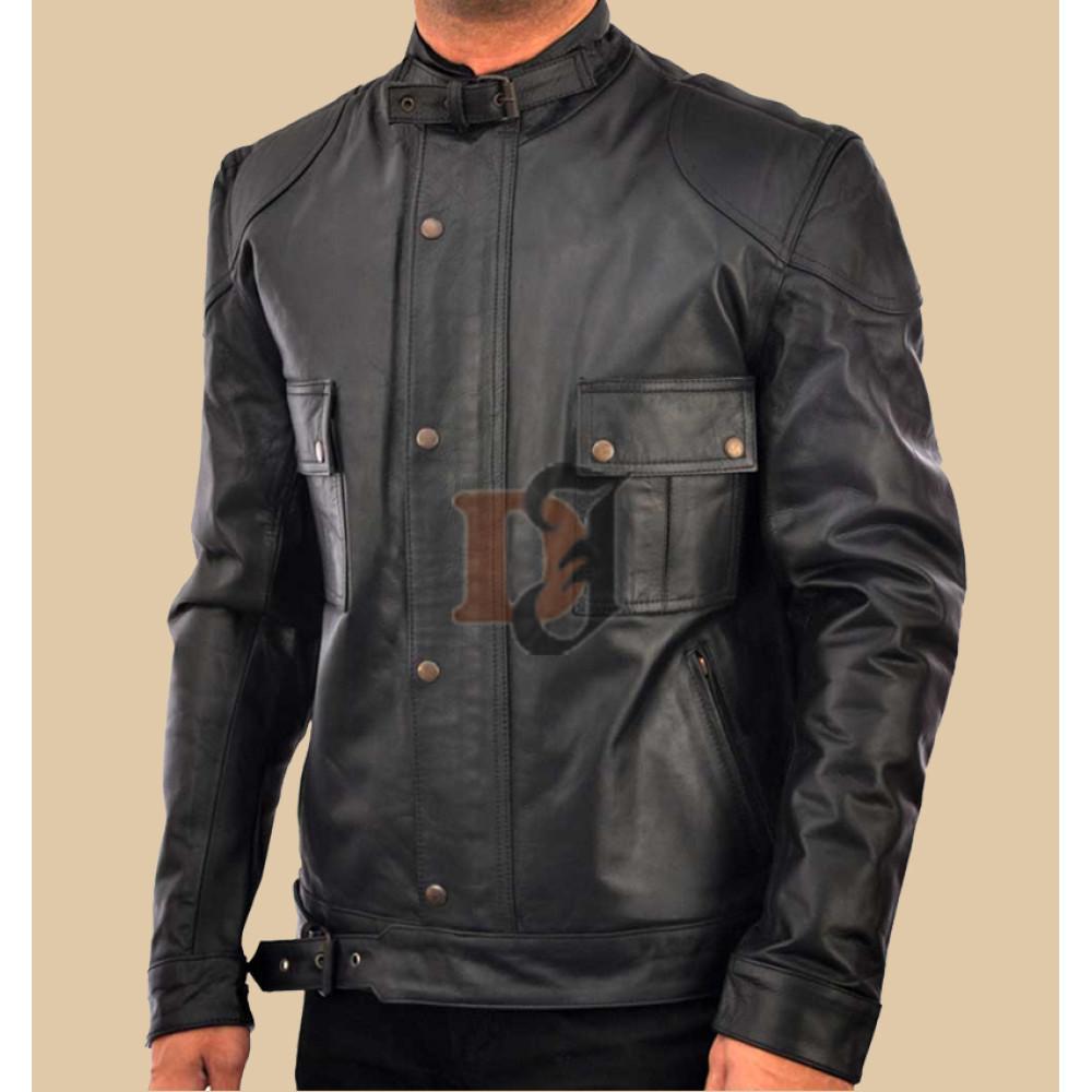 Wanted: Mens Wesley Gibson Black Jacket | Black Jackets