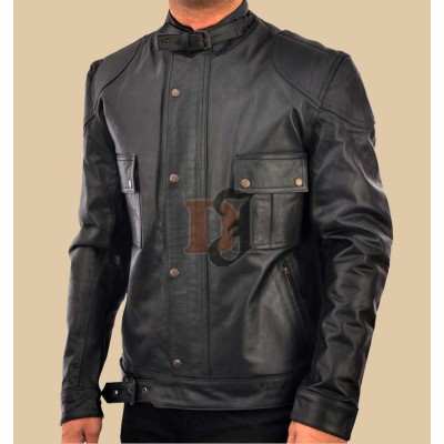 Wanted: Mens Wesley Gibson Black Jacket | Black Jackets