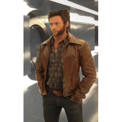 X-Men Days of Future Past Wolverine Logan Biker Jacket | Movies Jackets