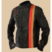X-Men 3 Scott Cyclops Motorcycle Leather Jacket | Black Jackets