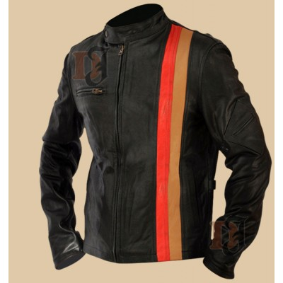 X-Men 3 Scott Cyclops Motorcycle Leather Jacket | Black Jackets