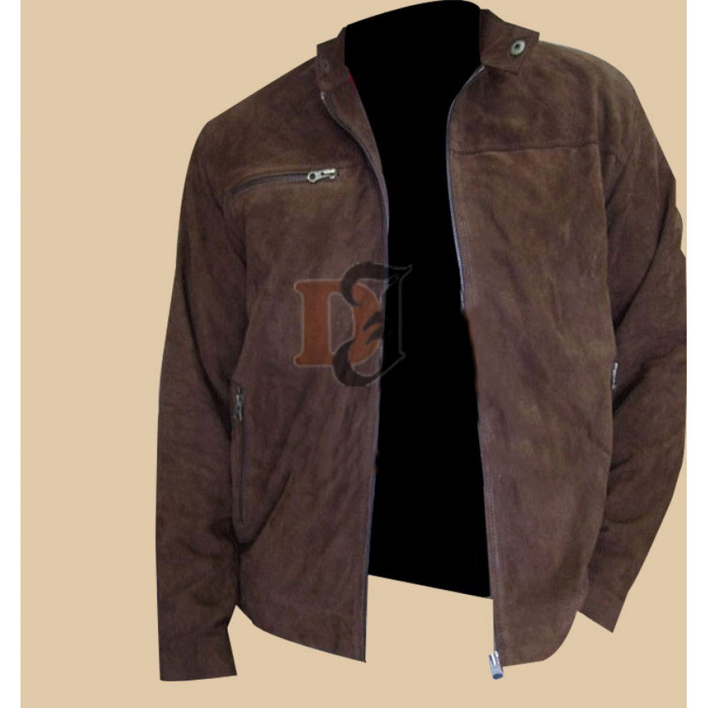 Mission Impossible 3 Tom Cruise Suede Jacket | Brown Leather Jackets