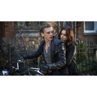 Mortal Instruments Jace Wayland Black Hoodie Jacket | Hooded Jacket