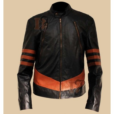 X-Men Logans XO Black Jacket Wolverine | Superstar Leather Jacket