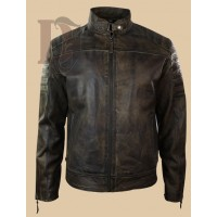 Men's Vintage Distressed Biker Jacket | Distressed Leather Jackets