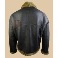 Mens Brown Flying Pilot Black Jacket | Mens Bomber Jackets