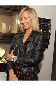 Lady Victoria Hervey Leather Jackets  | Women's Black Jackets
