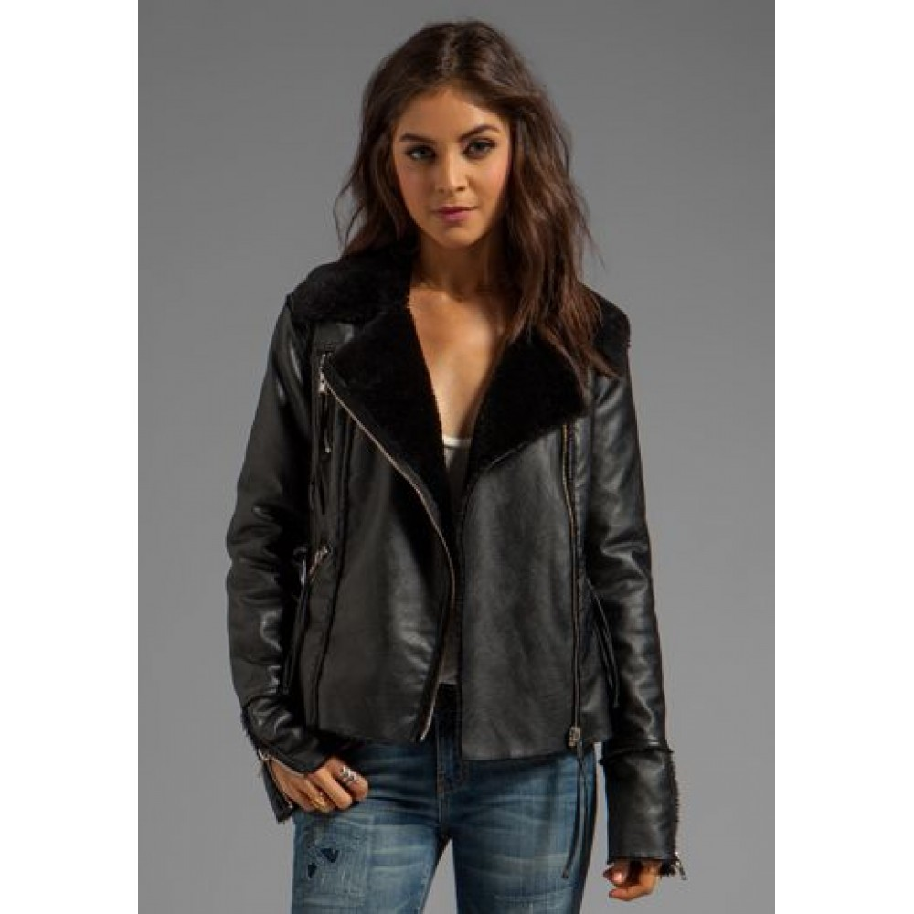 Fine Frenzy Leather Jacket For Sale | Women's Leather Jacket