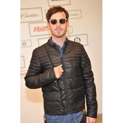 Scoot Mcnairy Leather Jackets | Celebrities Black Jackets