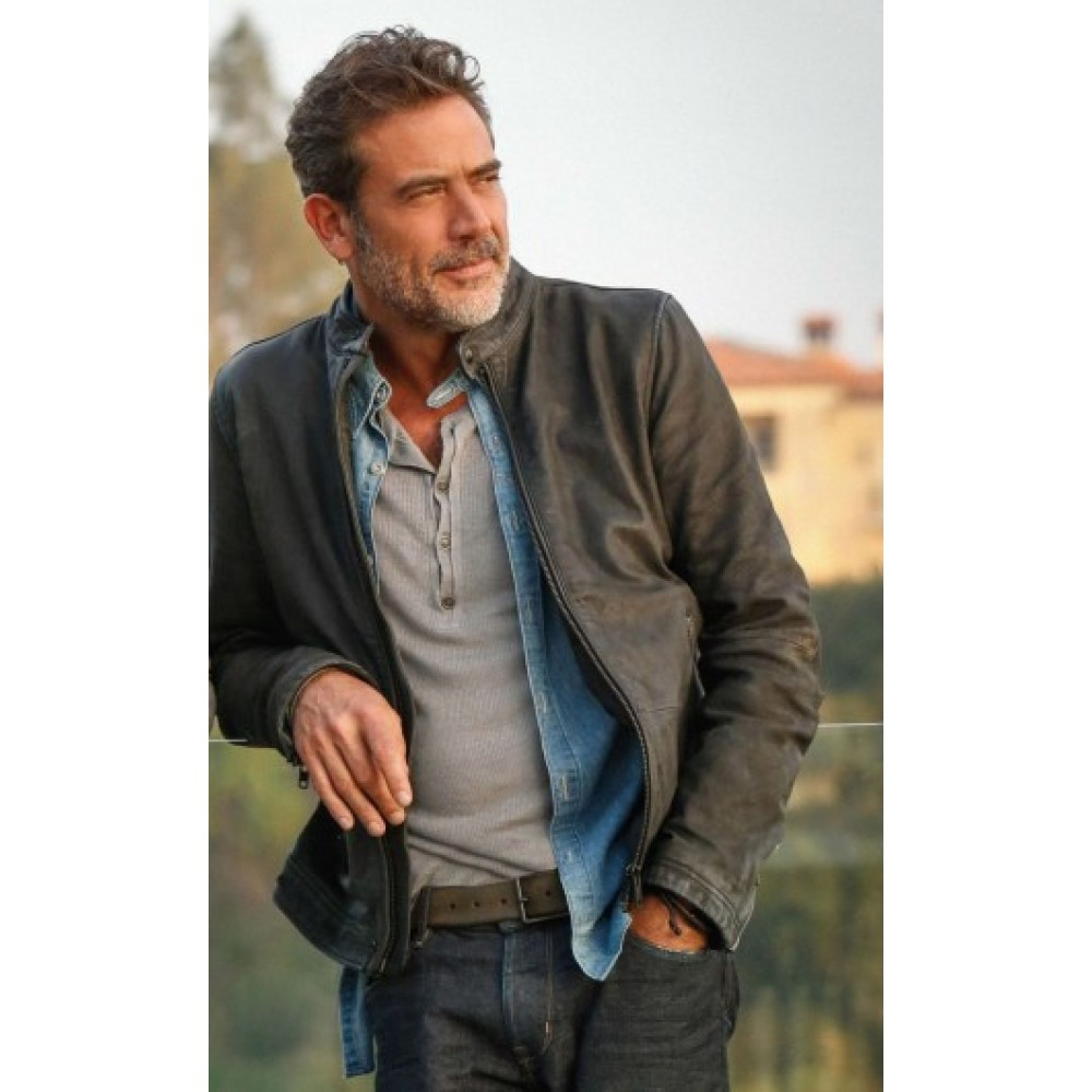 Jeffrey Dean Morgan Extant Leather Jacket | Distressed Jackets