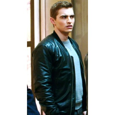 Now You See Me 2 Dave Franco Leather Jacket | Black Leather Jackets