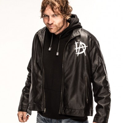 WWE Dean Ambrose Men's Leather Jacket | Men's Leather Jacket