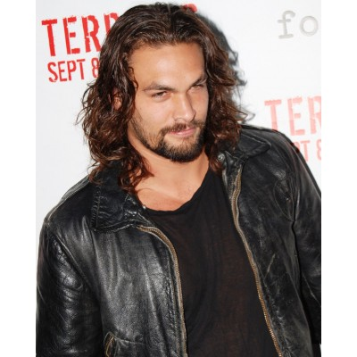 Jason Momoa Leather Jacket For Sale | Celeb Black Jackets