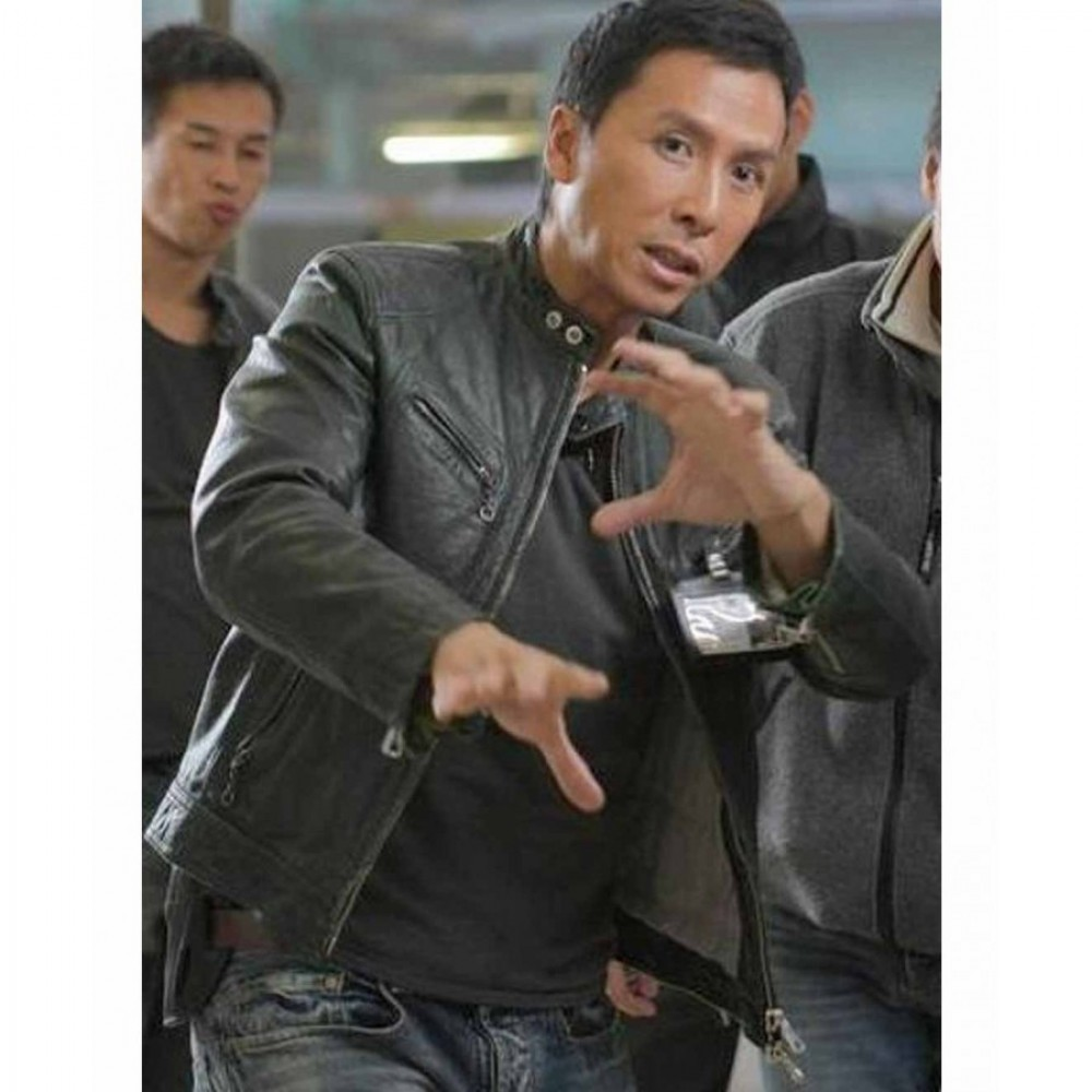 Flash Point Donnie Yen Leather Jacket | Distressed Jackets